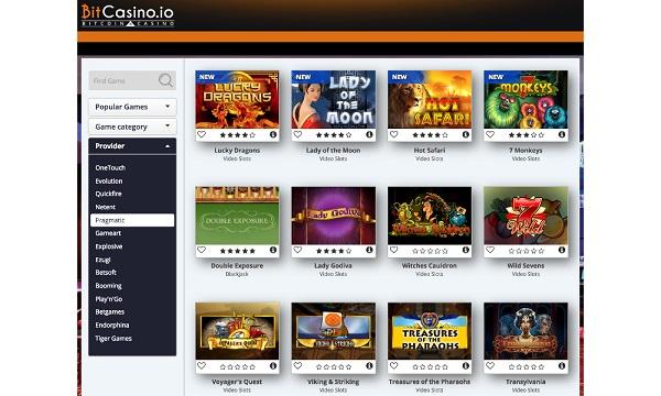 BitCasino.io refuerza su oferta Bitcoin Casino añadiendo nuevos juegos
