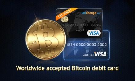 Ahora es mucho más fácil ordenar tarjetas Bitcoin en Unichange.me