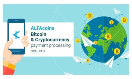 ALFACoins, la compañía de pagos criptomoneda, lanza sitio web actualizado y amigable