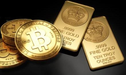 Precio de bitcoin en China supera por primera vez al del oro para luego desplomarse