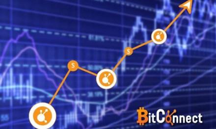 Comercio de la criptomoneda BitConnect gana tracción y su precio se recupera