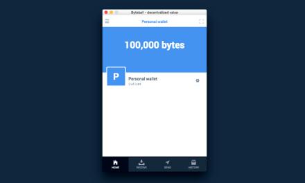 La plataforma criptomoneda Byteball programa segunda ronda de distribución para febrero