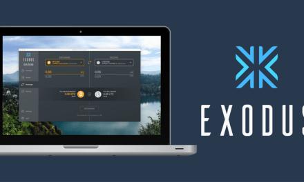 Nueva versión de Exodus incluye Civic y comisiones bajas para transacciones de Bitcoin