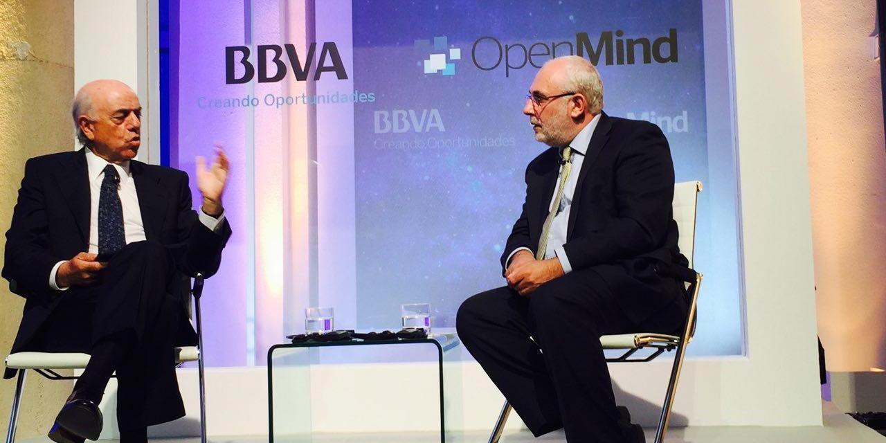 """Francisco González: """"Blockchain cambiará las reglas del juego en la banca al hacer el papel de intermediario"""""""