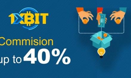 Casino bitcoin 1xBit ofrece las más altas comisiones en nuevo programa de afiliados