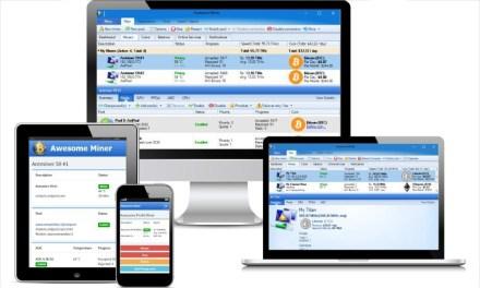 Awesome Miner 3.0 de IntelliBreeze Software permite la gestión centralizada de hasta 5.000 mineros