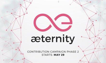 Segunda fase de recaudación de Æternity comienza este lunes