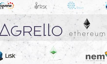 Agrello construirá sobre Ethereum y apoyará otras plataformas importantes