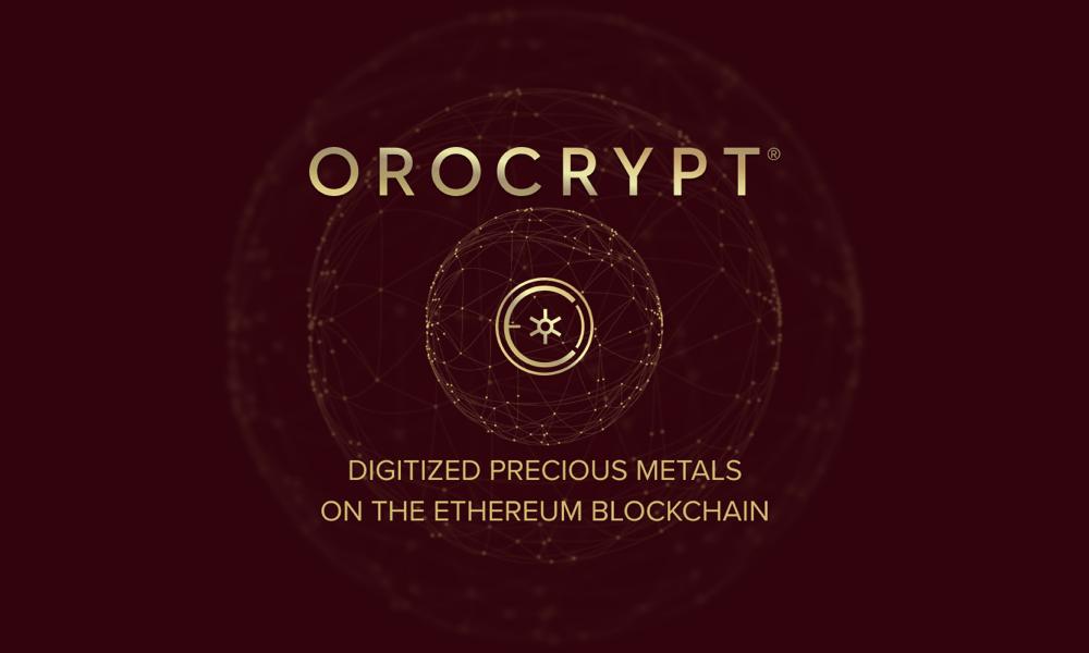 Orocrypt ofrece metales preciosos digitalizados sobre la Blockchain Ethereum, ICO en marcha