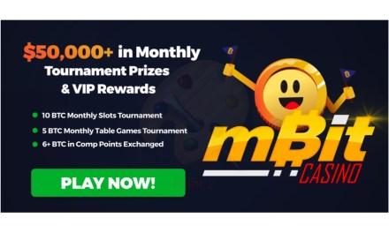 MBit Casino está pagando más de $ 50.000 en torneos mensuales y premios VIP