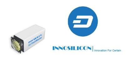 Innosilicon lanza minero A5 DashMaster para algoritmo X11