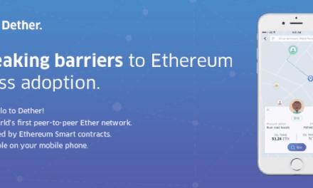 Dether, la primera red de Ether P2P del mundo promoverá la adopción masiva de Ethereum
