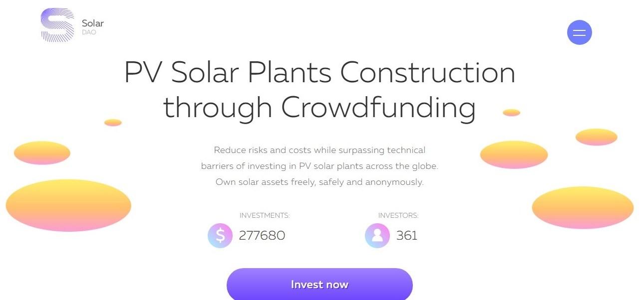 SolarDao hace accesible la inversión en energía solar