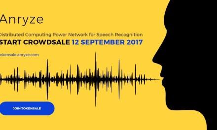 Anryze apunta a $6 millones en Crowdsale para tecnología blockchain de reconocimiento de voz