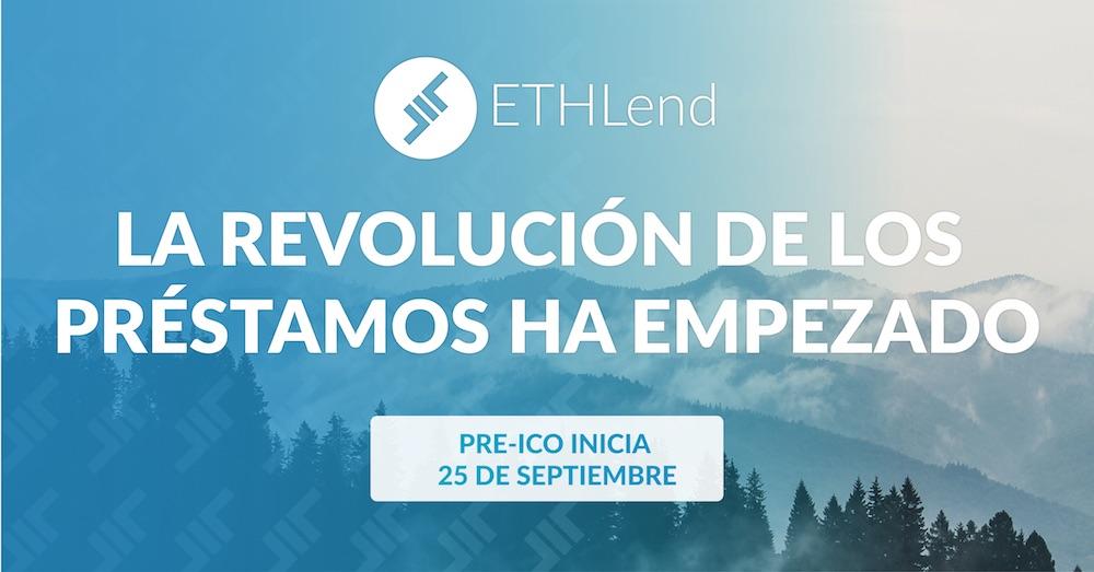 Plataforma de préstamos ETHLend anuncia preventa de token LEND