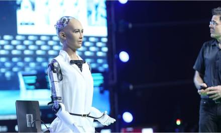 Sophia, la robot inteligente que debatirá sobre el potencial de blockchain en Barcelona