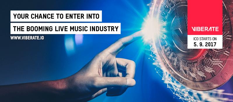 Plataforma de música en vivo y blockchain Viberate arranca su ICO