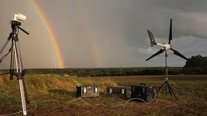 Prototipo de minero Zcash trabaja con energía eólica para financiar la lucha contra el cambio climático