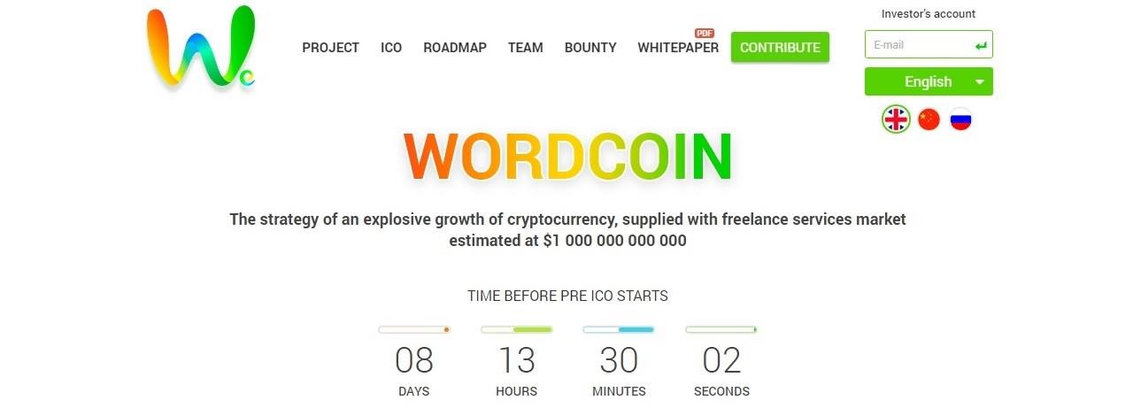 WordCoin abrirá ICO para financiar Word Expert, la plataforma de servicios freelance