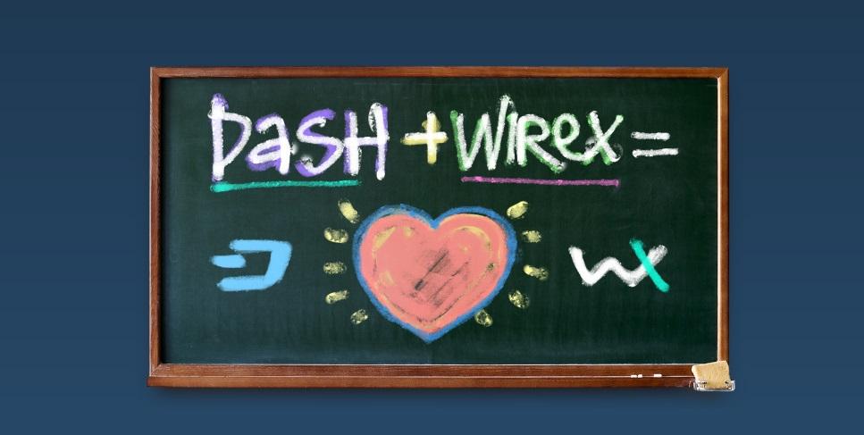 Wirex, aplicación blockchain de tarjetas de débito, establece alianza con Dash