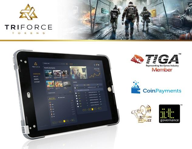 Startup blockchain de juegos TriForce Tokens anuncia pre ICO para el 14 de octubre