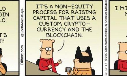Creador de Dilbert confunda proyecto que lanzará venta de tokens regulada