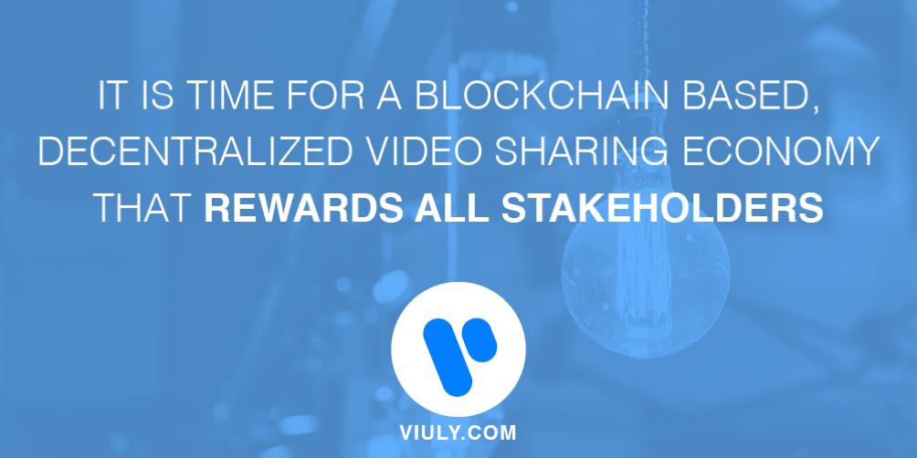 Plataforma Blockchain de Compartir Videos de Viuly Anuncia Pre-ICO para el 10 de Octubre