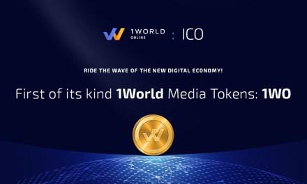1World Online, plataforma líder de ingresos y participación, anuncia ICO para aumentar la interactividad del usuario