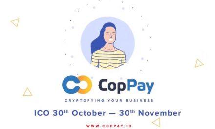 CopPay: sacando las criptomonedas fuera de su escondite para pagos del día a día