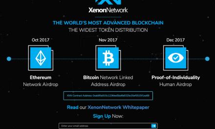 Tokens XNN de la Blockchain XenonNetwork llegan a ser los más ampliamente distribuidos – Más de 757.000 direcciones