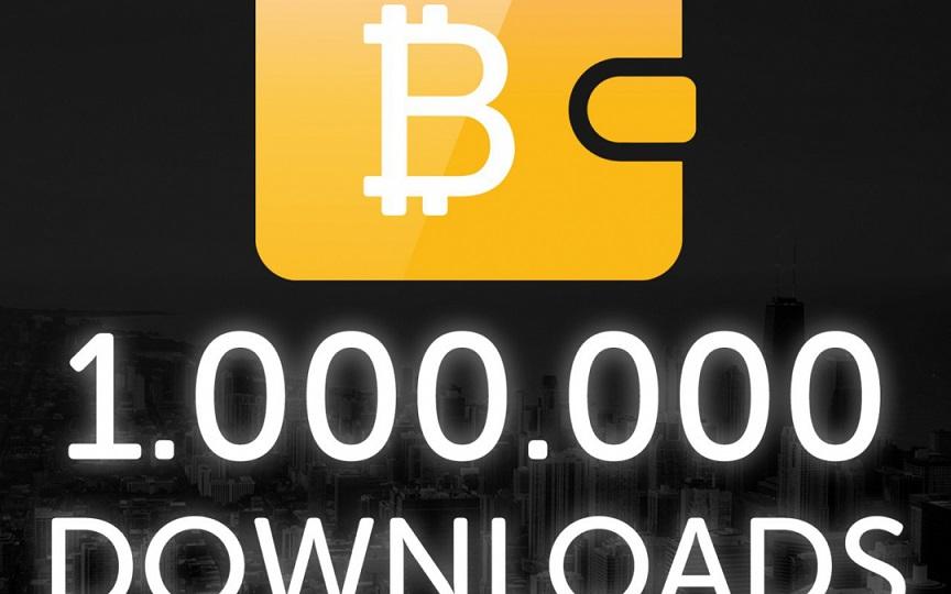 Bitcoin.com, proveedor líder en monederos Bitcoin, celebra 1 millón de descargas, en los primeros 5 meses