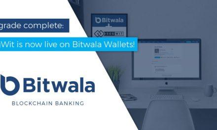 Cartera Bitwala brindará comisiones más baratas gracias a SegWit