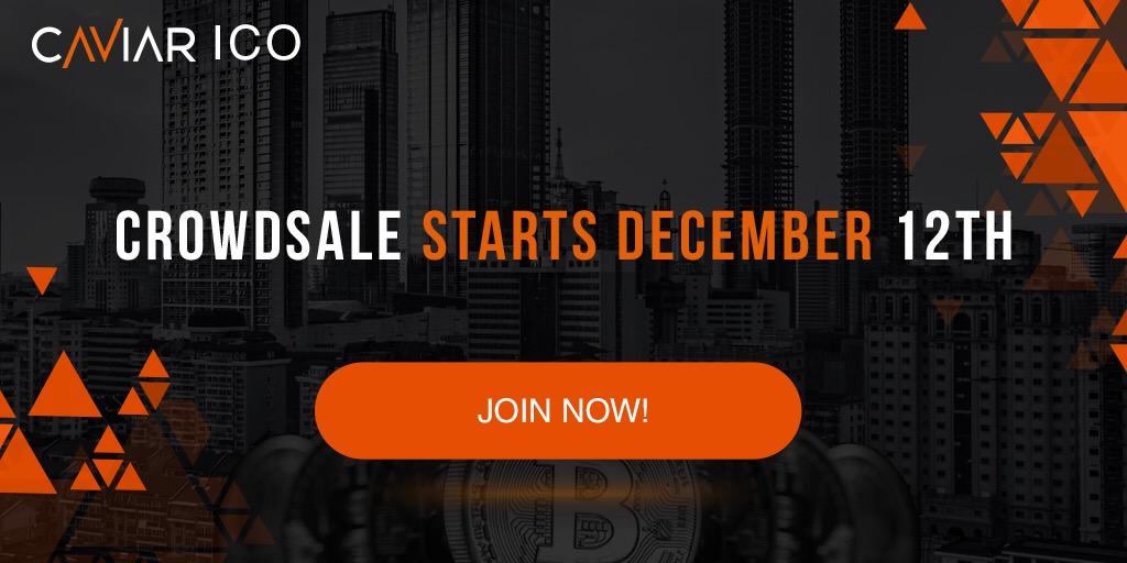 Caviar supera objetivo de preventa de $ 1,5M, lanza Crowdsale y financiamiento para primera propiedad inmobiliaria en diciembre