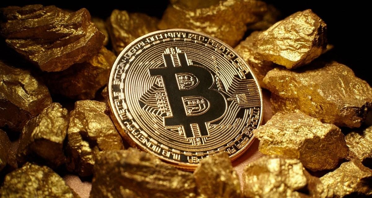 Analistas afirman que Bitcoin podría estar influyendo en el precio del oro