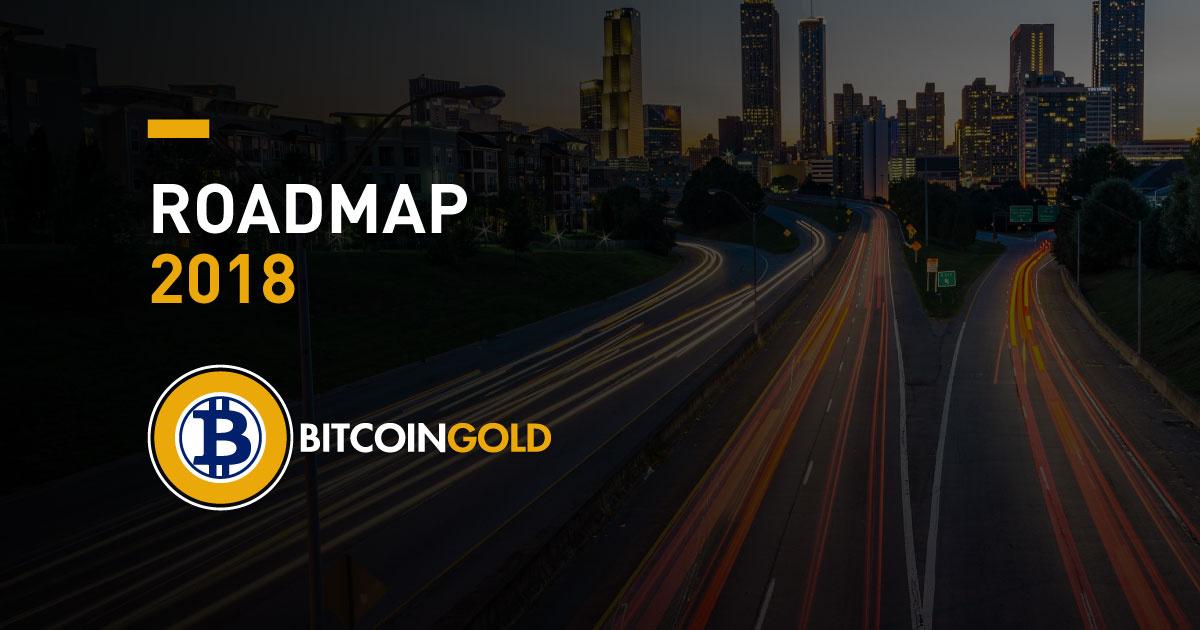 Mapa de ruta de Bitcoin Gold se enfoca en escalabilidad, privacidad y descentralización