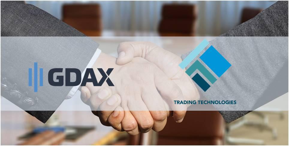 Alianza de Coinbase y Trading Technologies lleva las criptomonedas al mundo bursátil formal