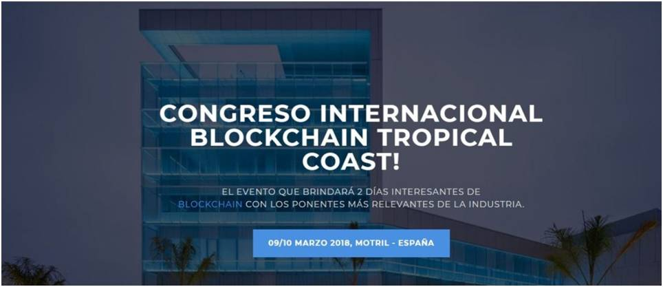 Bitcoin Gold dirá presente en el Congreso Internacional Blockchain Tropical Coast