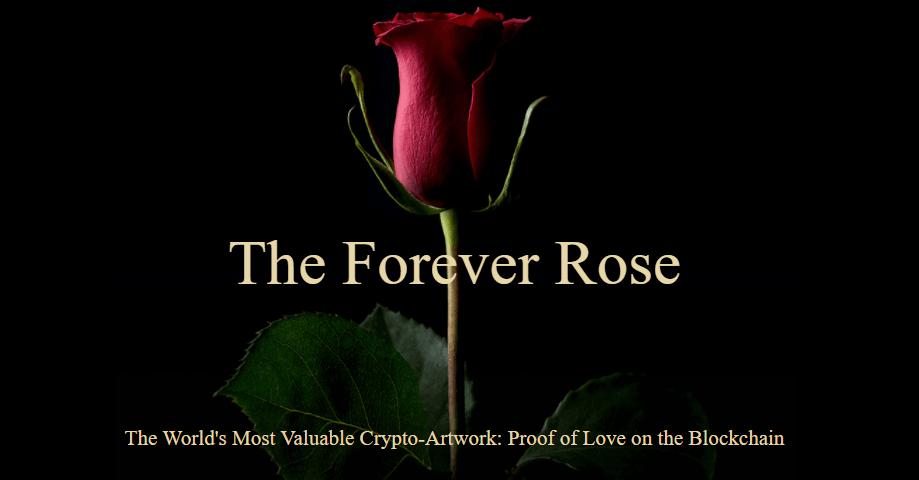 Forever Rose: la criptoarte más costosa hasta la fecha será vendida por $1 millón de dólares