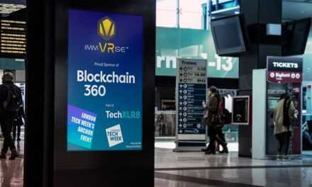 ImmVRse patrocina oficialmente la Blockchain360 en la London Tech Week