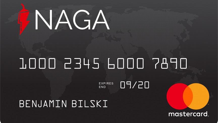 NAGA anuncia el inicio del pre-registro de la tarjeta de débito NAGA