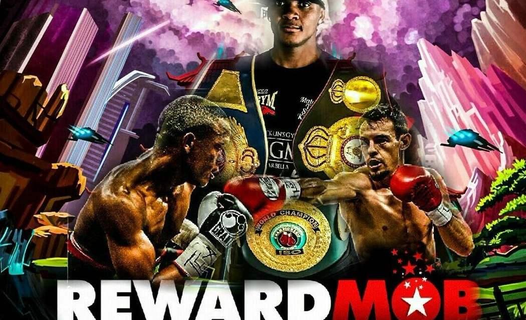 RewardMob se convierte en la primera plataforma de criptoactivos en patrocinar a un boxeador profesional