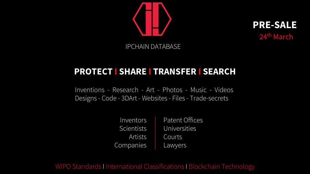 Base de datos IPCHAIN revoluciona la protección de la Propiedad Intelectual