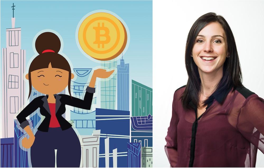 """Melissa Quinn: """"con blockchain podemos comenzar a dar la bienvenida a aquellos que no cuentan con servicios bancarios"""""""