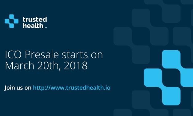 TrustedHealth anuncia pre-venta de tokens para finales del mes de marzo