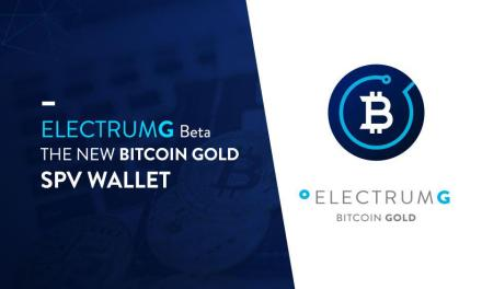 Bitcoin Gold ya cuenta con su cartera ElectrumG