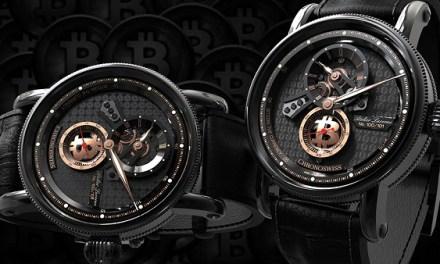 Chronoswiss libera exclusiva edición limitada, relojes de criptomoneda suizos hechos en Suiza