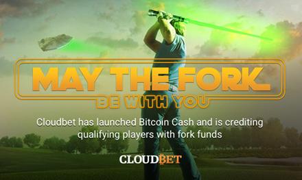 Que la bifurcación esté contigo: Cloudbet Casino Bitcoin revela regalo de Bitcoin Cash