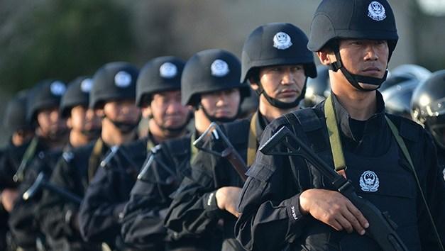 Policía interrumpe en la Expo Global de FinTech y Blockchain en China