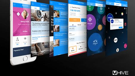 UHIVE, la aplicación de redes sociales de próxima generación anuncia evento Token