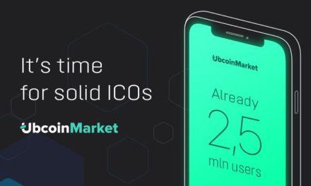 Ubcoin recaudó más de $1 millón en su pre-ICO para el desarrollo de su mercado con criptomonedas